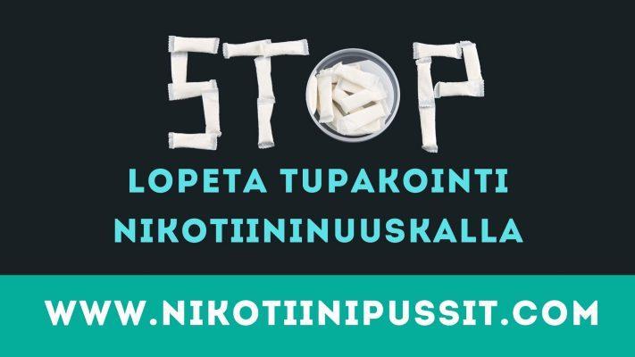 Lopeta tupakointi nikotiininuuskalla
