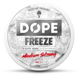 Dope Freeze 4mg nikotiinipussi