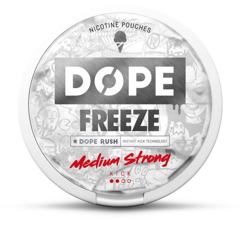 DOPE Nikotiinipussi – Freeze 4mg