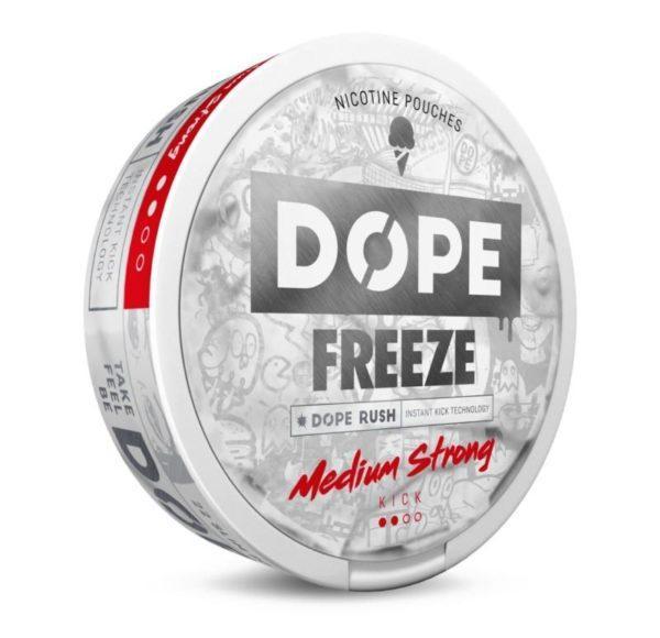 Dope Freeze nikotiinipussi