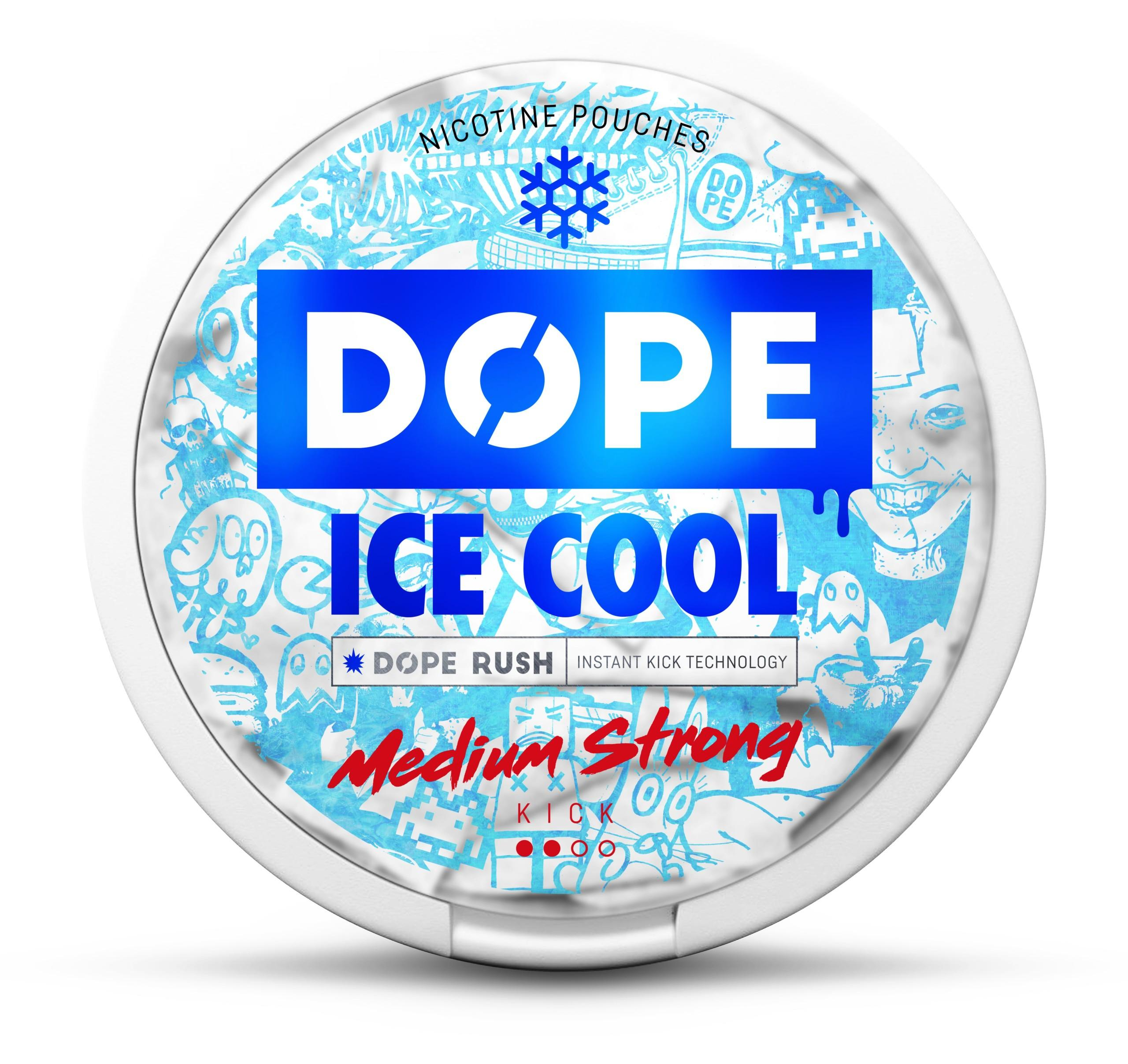 Dope Ice Cool nikotiinipussi 4mg
