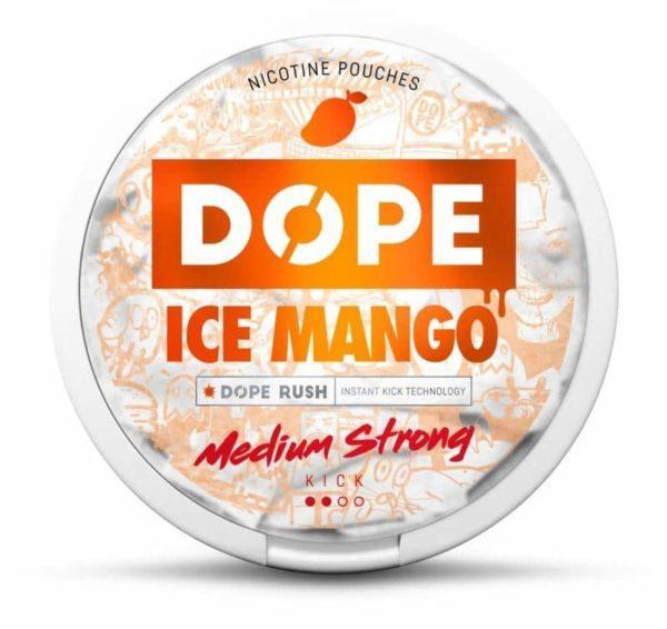 Dope Ice Mango nikotiininuuska 4mg