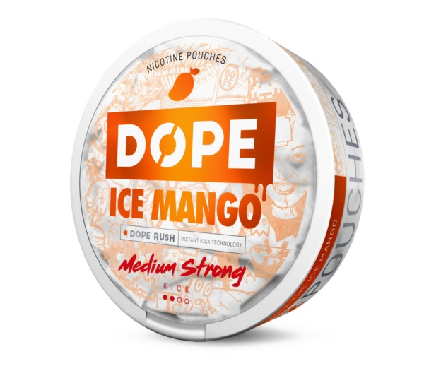 Dope Ice Mango tupakaton nuuska 4mg