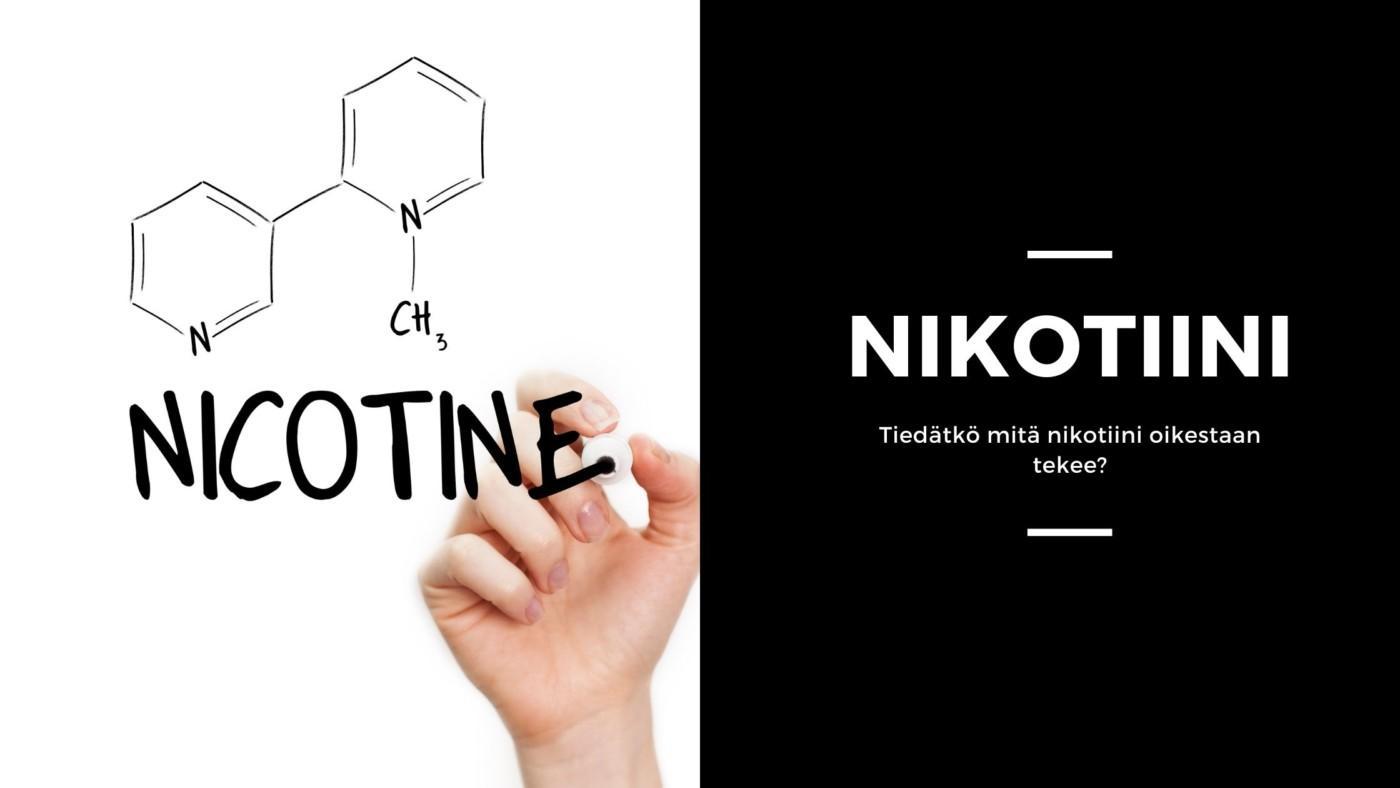 Mitä on nikotiini