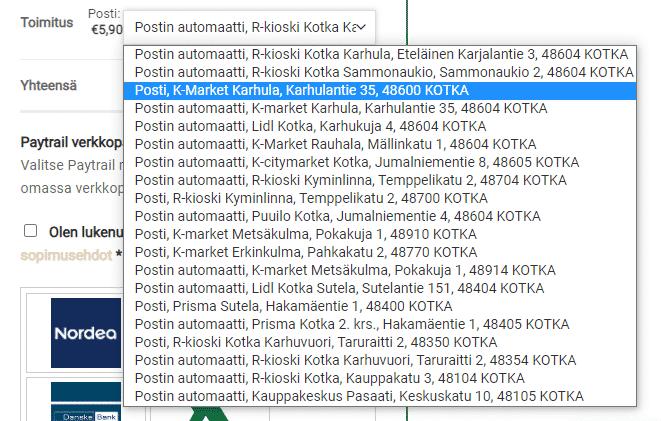 Nikotiininuuskan tilaaminen Suomeen