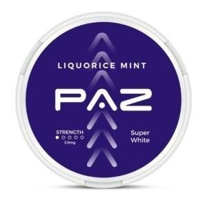 paz nikotiininuuska liquorice mint