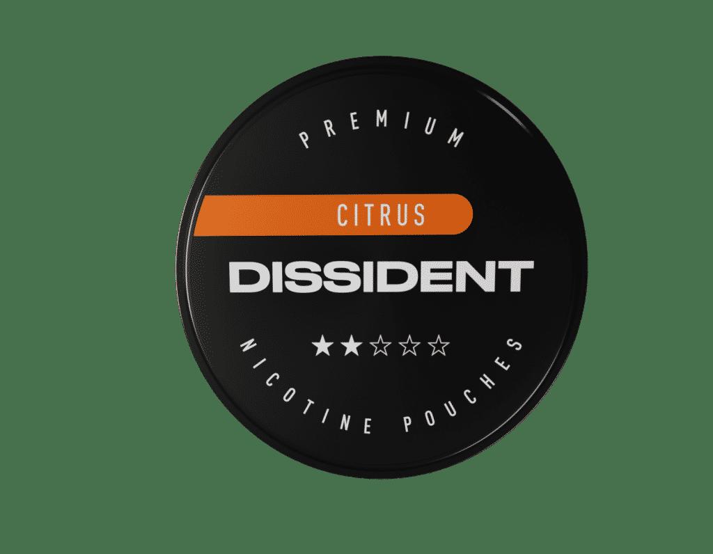 Dissident Citrus nikotiinipussit ovat tupakasta vapaita