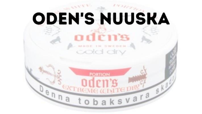 Odens nuuska on Suomen suosituin nuuska
