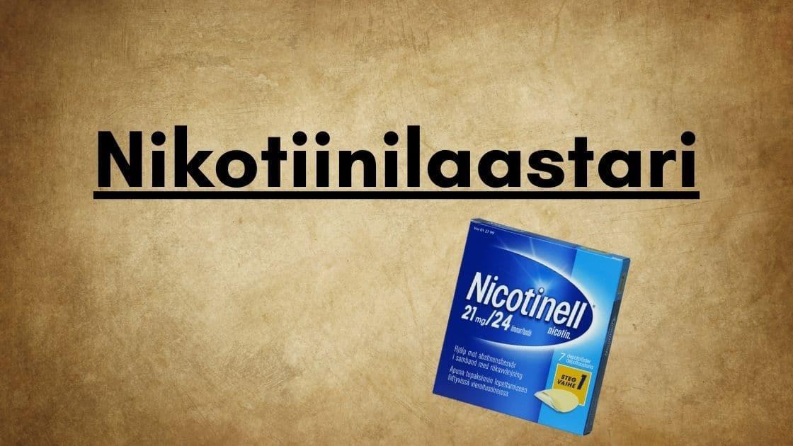Nikotiinilaastari